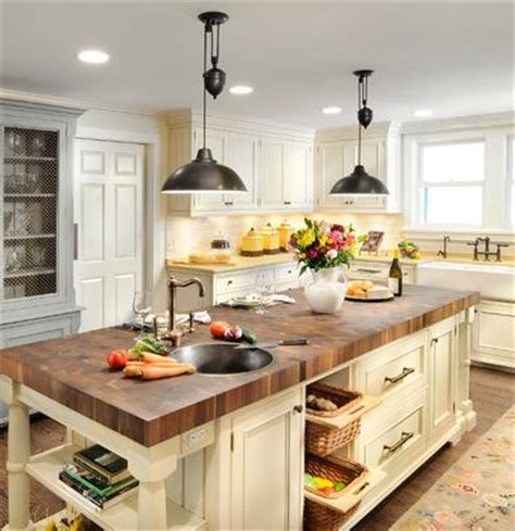 farmhouse style kitchen island lighting industrial style pulley lights for a unique antique loft