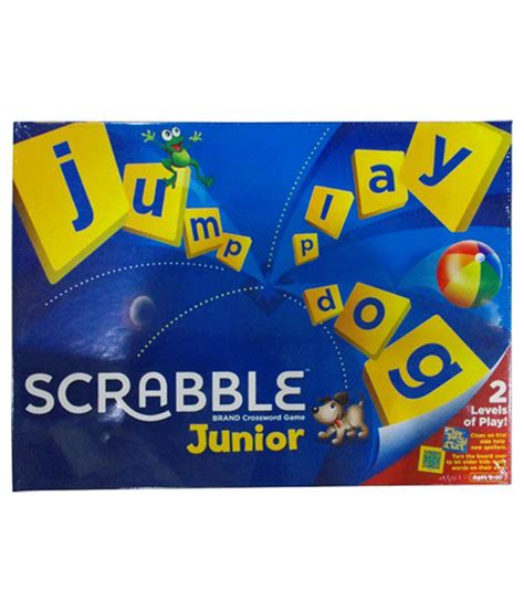 mattel junior scrabble mattel scrabble junior buy mattel scrabble