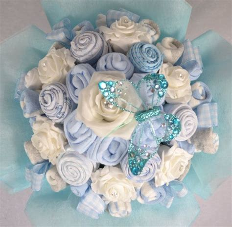 baby bouquet 19 items of baby clothes baby shower gift
