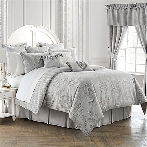 Waterford 174 Linens Whitney Reversible Comforter Set Bed Bath Beyond