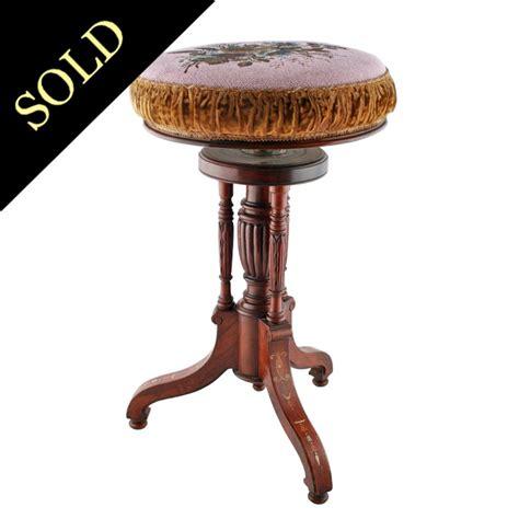 antique piano stool piano stool