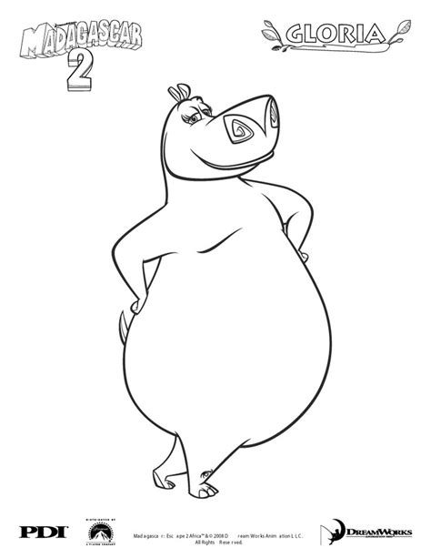 hungry hungry hippos coloring page gloria the hippo coloring page gloria the hippo pinterest