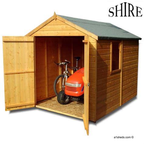 Shed X by Shire Warwick 8x6 Shed Doors