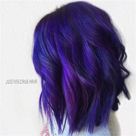 bluish purple color best 25 blue purple hair ideas on pink purple