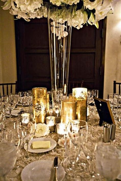 silver wedding wedding ideas by color gold and silver