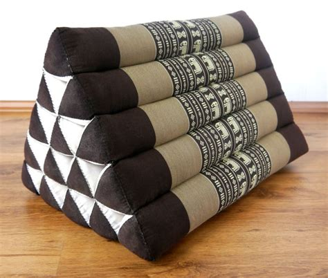 bed bolster pillow wedge 100 kapok wedge thai triangle cushion 38x38x57cm bed