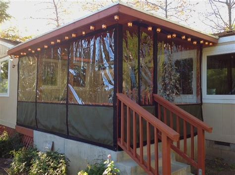 plastic curtains for porches corrugated plastic decks and house ideas on pinterest