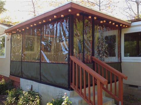 Clear Vinyl Plastic Enclosures   For Porch & Patio