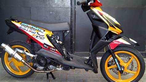 Beat Keren by Cah Gagah Modifikasi Motor Honda Beat Road Race