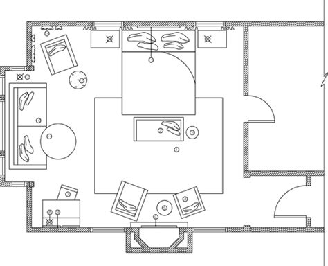 bedroom plan residence master bedroom home