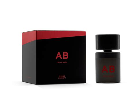 Parfum Tokyo ab tokyo musk blood concept perfume a new fragrance for