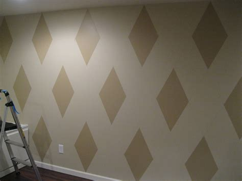 wall paint patterns paint patterns for walls how to paint a diamond pattern on