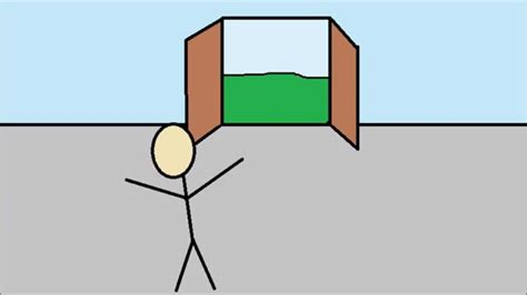 earthquake animation earthquake stickman animation youtube