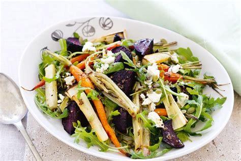 roasted root vegetable salad roasted root vegetable salad with feta