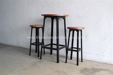 Kursi Cafe Bar Set Kursi Cafe Bar Murah Khamila Mebel Khamila Mebel