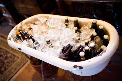 bathtub beer pin by udream events on mobile bar rentals pinterest