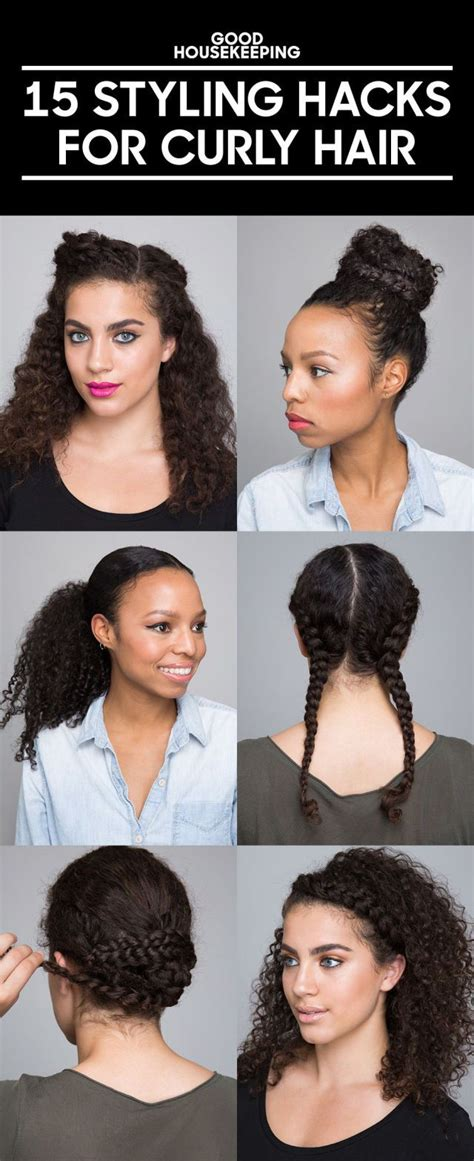 Tips And Hairstyles For The Naturally Look by 25 Best Ideas About Curly Hairstyles On