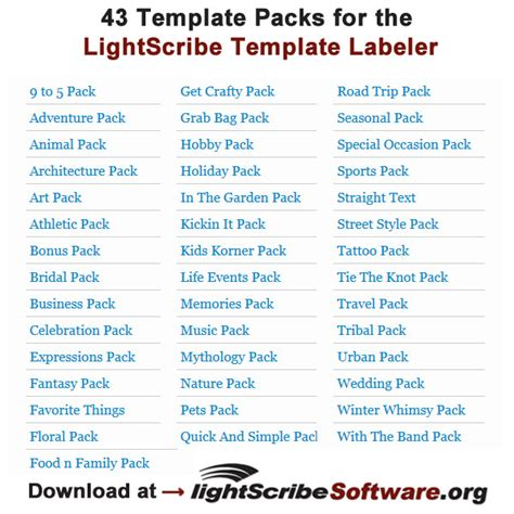 lightscribe template labeler templates lightscribe tv