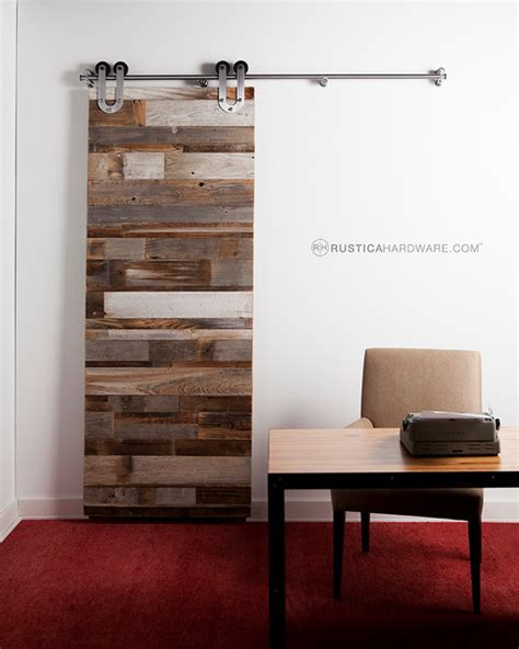 Bedroom Doors With Slats Reclaimed Barn Wood Horizontal Slat Barn Door Rustic