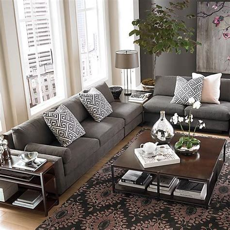 Living Room With Gray Sofa 17 Best Ideas About Beige Sofa On Beige Beige Sectional And Living Room Sectional