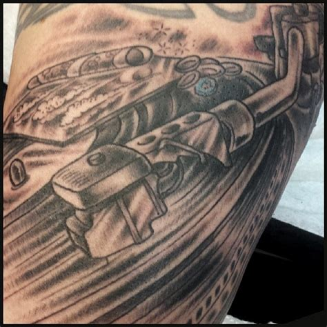turntable tattoo turntable www pixshark images galleries