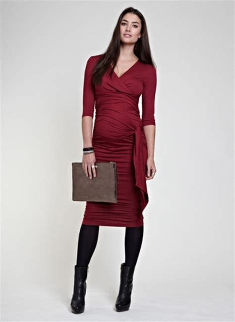 christmas maternity dress