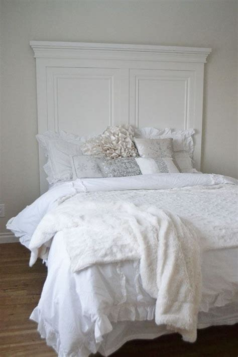 Fancy Headboards Beautiful Diy Headboard White Moulding Fancy