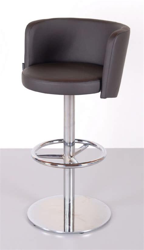 Tabouret De Bar Design Cuir by Tabourets De Bar Design En Cuir Aston C Lot De 6