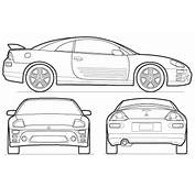 Auto Eclipse Colouring Pages