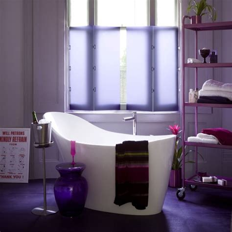 purple color bathroom 33 cool purple bathroom design ideas digsdigs