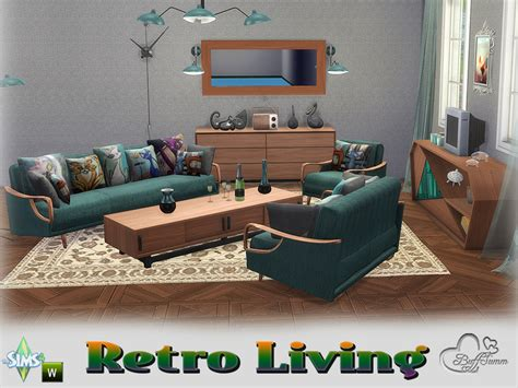 Retro Living Room Sets Buffsumm S Retro Livingroom