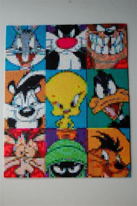 perler at 55 best perler bead warner brothers pixel graphs