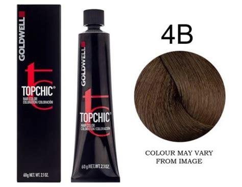4b color goldwell topchic 4b havana brown 60g hair and beauty
