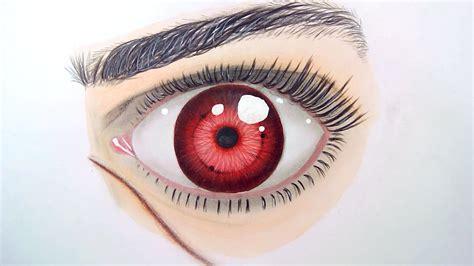drawing anime eyes sharingan realistic eye speed