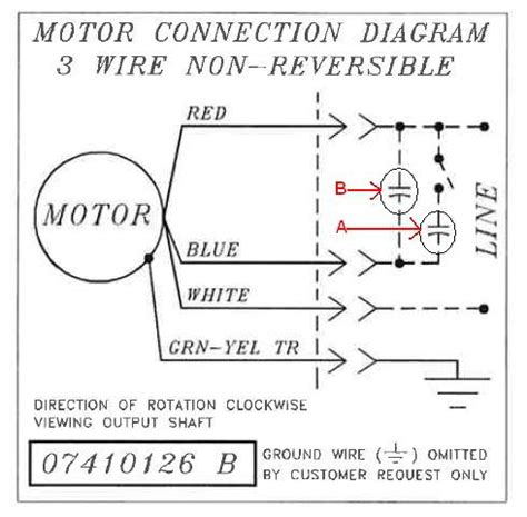 bodine electric motor wiring doityourself community