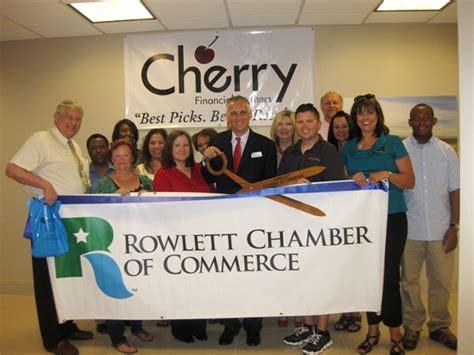 Office Supplies Rowlett Tx Rowlett Chamber Welcomes Newest Member Cherry Financial