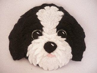 shih tzu puppies meadville pa best 25 felt dogs ideas on felt crafts diy felt ornaments and