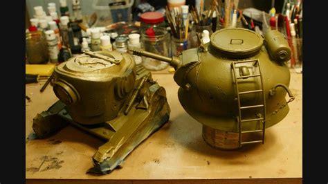 Threea 3a Severed Robot 12 bubo s tank bot custom 3a threea bot toyart