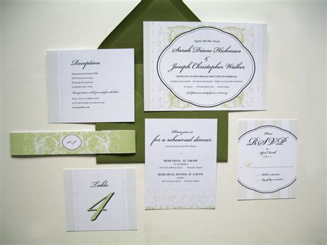 Ready Wedding Invitations by Ink Parade Paperie Custom Wedding Invitations
