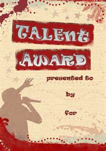talent show certificate template talent quest certificate one by ingulous on deviantart