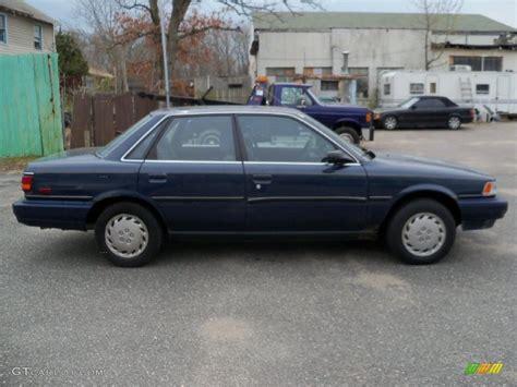 1991 Toyota Camry 1991 Blue Pearl Metallic Toyota Camry Deluxe Sedan