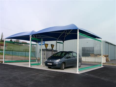 Dimensions Of 3 Car Garage abri lavage auto protection station de lavage techni