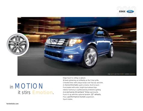 Johnson Ford Pittsfield 2010 Ford Edge Pittsfield