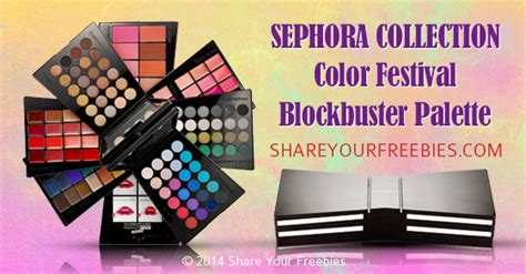 Sephora Color Festival sephora color festival blockbuster palette sweepstakes