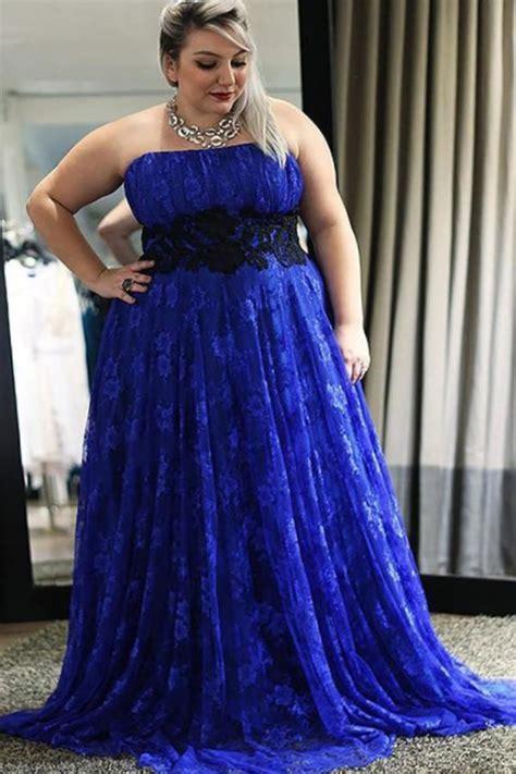 Best Plus Size Royal Blue Wedding Dresses of 2019