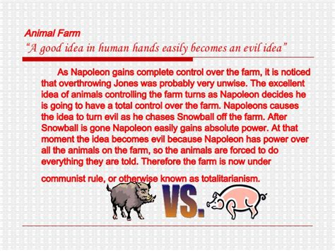 themes of animal farm themes of animal farm