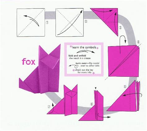 How To Make A Paper Fox - origami fox 001 ian neale viralnetworks