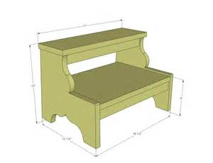 simple wood step stool plans neas