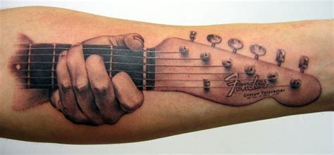 20 kick guitar tattoos