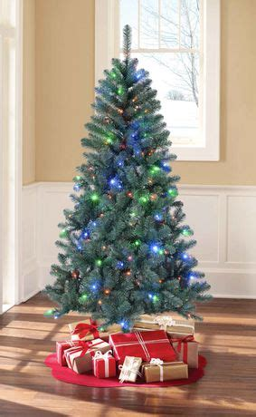 holiday time green pre lit sonoma pine tree walmart canada